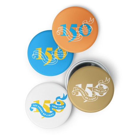 150th Anniversary Buttons set